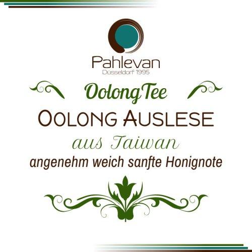 Oolong Tee Auslese | aus Taiwan angenehm weich sanfte Honignote von Tee Pahlevan