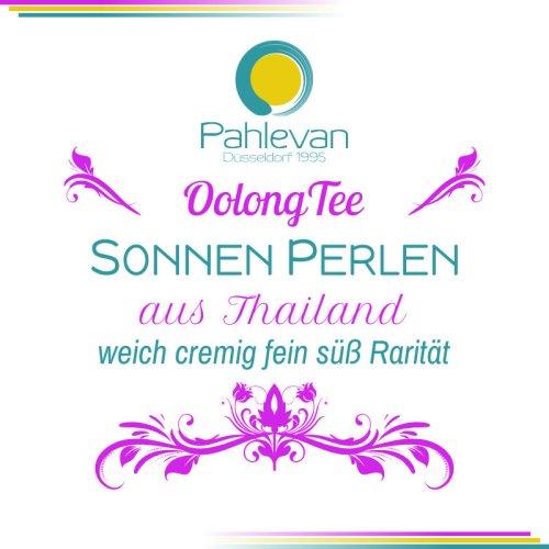 Oolong Tee Sonnenperlen   aus Thailand weich cremig fein süß Rarität von Tee Pahlevan