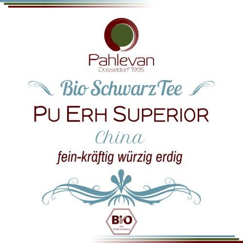 Tee China Yunnan Pu Erh Superior   fein kräftig würzig erdig rund von Tee Pahlevan