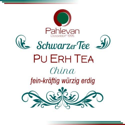 Tee China Yunnan Pu Erh Tea   fein kräftig würzig erdig rund von Tee Pahlevan