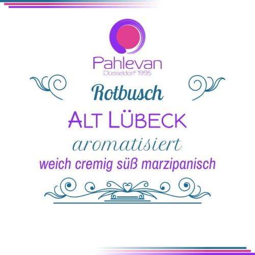 Rotbusch Tee Alt Lübeck | weich cremig süß marzipanisch von Tee Pahlevan
