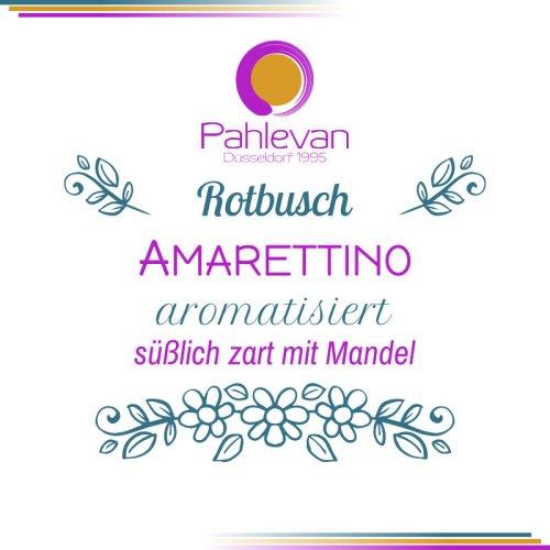 Rotbusch Tee Amarettino | süßlich zart mit Mandel von Tee Pahlevan