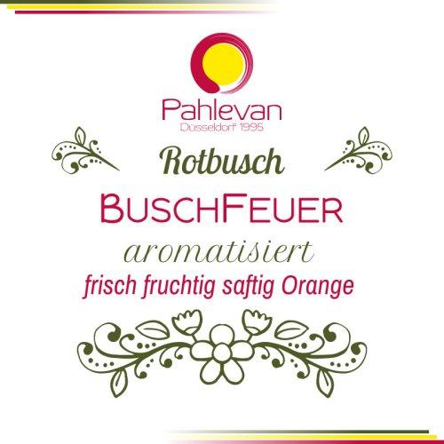 Rotbusch Tee Buschfeuer | frisch fruchtig saftig Orange von Tee Pahlevan