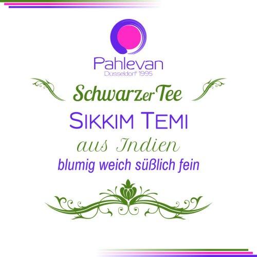 Schwarzer Tee Sikkim Temi | blumig weich süßlich fein von Tee Pahlevan