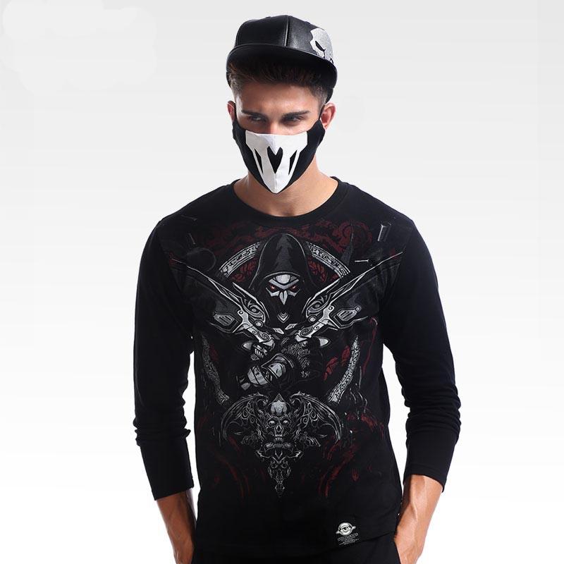 Overwatch Reaper Shirts Men Black T Shirt TEE7