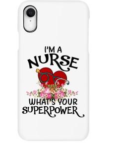 Nurse Superpower Design Phone case