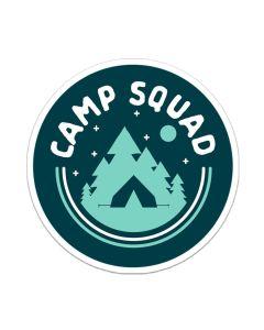 Camp Squad Sticker