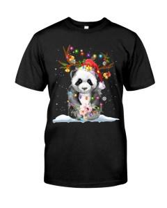 Panda Christmas Classic T-Shirt