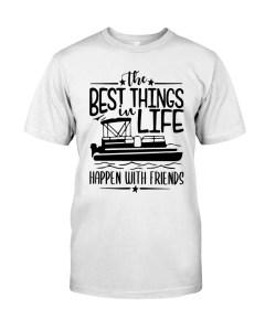 Pontoon Boat 082 Classic T-Shirt