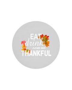 Be Thankful Circle Cutting Board