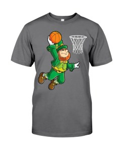 Leprechaun Basketball Premium Men Tee