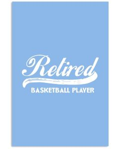 Retired Basketball Vertical Poster