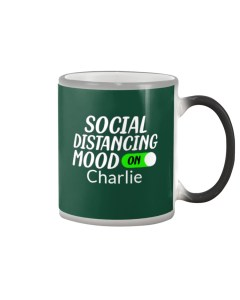 Social Distancing Mood On Personalized Design Color Changing Mug