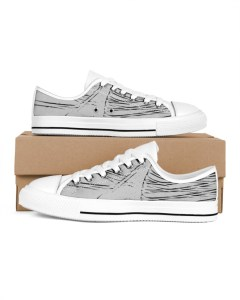 White and Grey Shoes