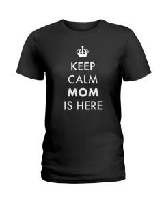 Keep Calm Ladies T-Shirt