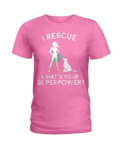 Rescue Superhero Ladies T-Shirt