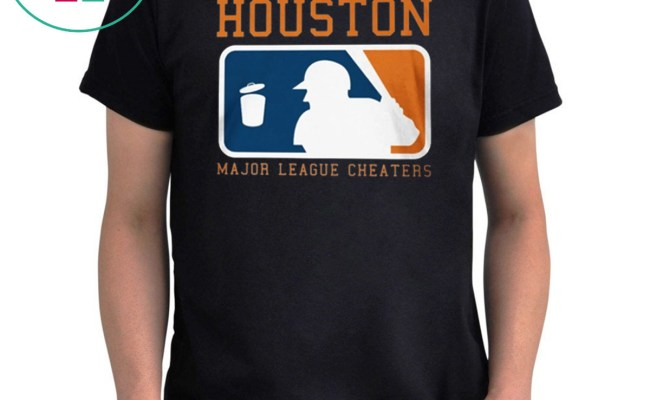 Houston Major League Cheaters Tee Shirt Houston Astros