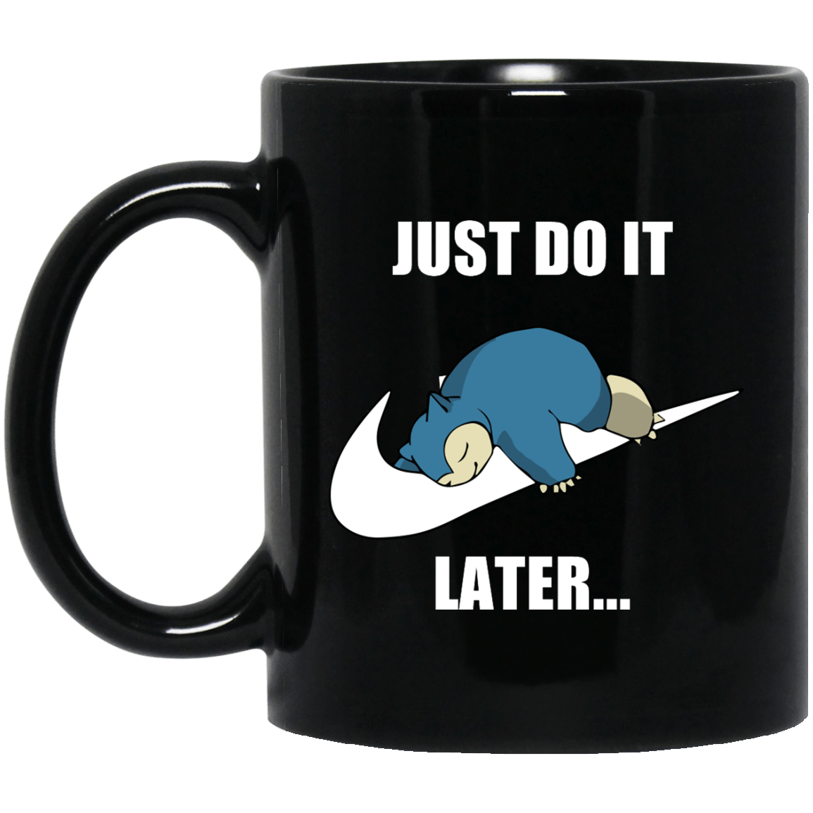 just do it snorlax mug
