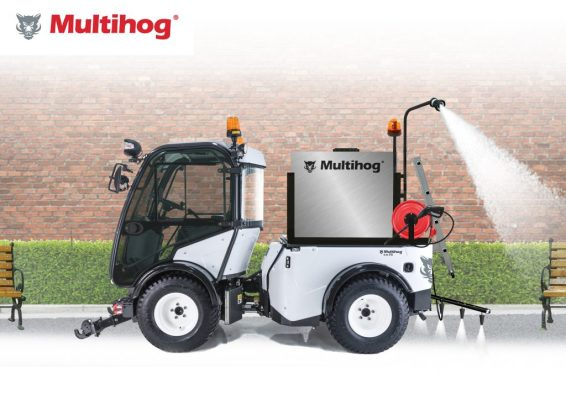 complete road sweeping from Multihog in oman
