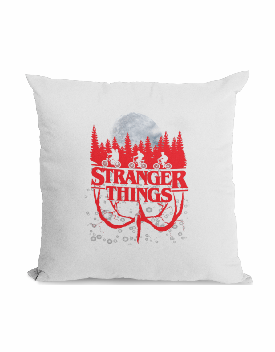 stanger things upside down pillow
