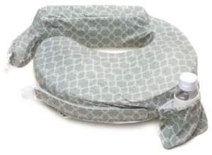10 My Brest Friend® Original Nursing Pillow in Flower Key Grey