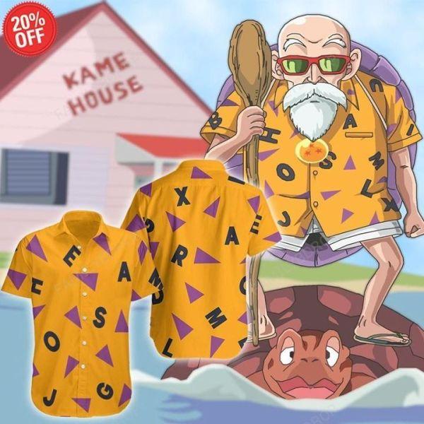 Master Roshi Hawaiian Shirt