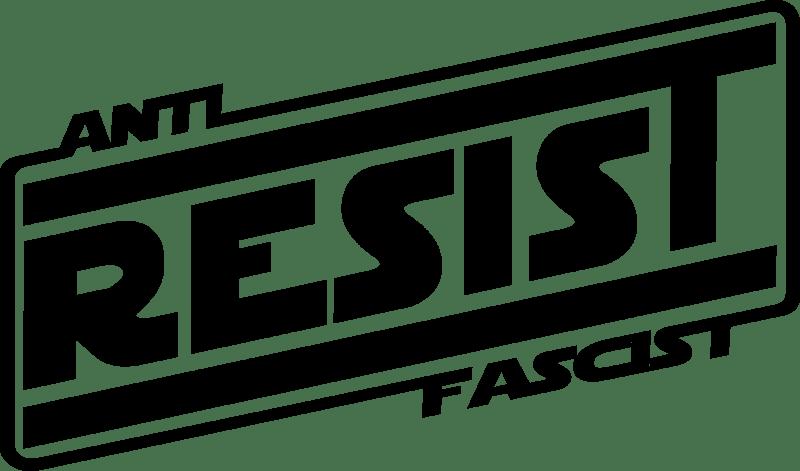 anti-fascist: resist decal