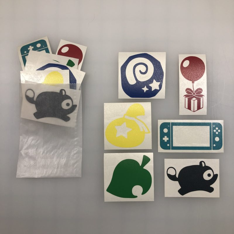 "animal crossing mini 2"" decals"