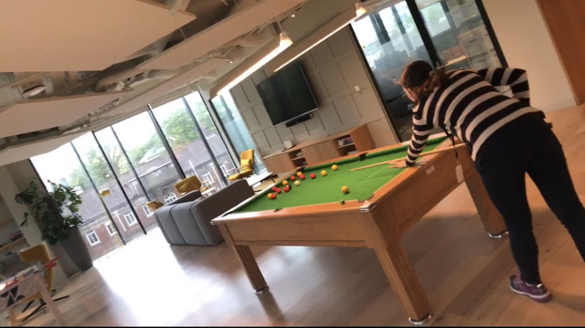 Pool Table at Zendesk