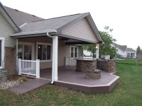 Deck with covered roof | Deck design and Ideas
