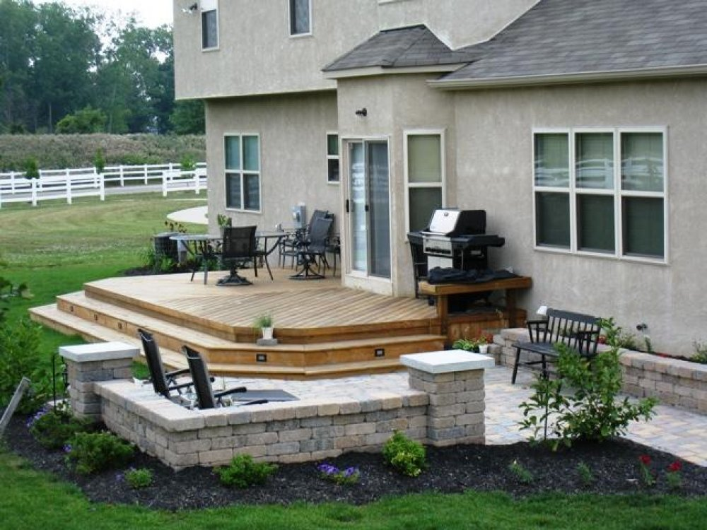 Deck and patio combination ideas  Deck design and Ideas