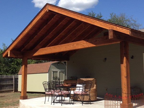 Deck Gable Roof Deck Design And Ideas