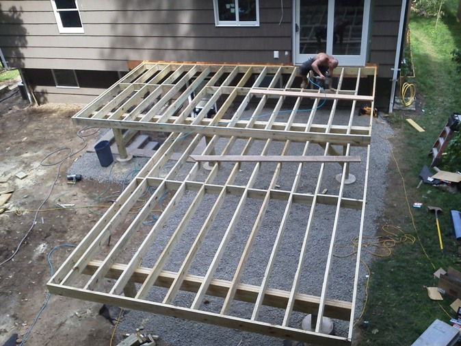 Size of deck joists  Deck design and Ideas