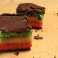 Seven Layer Italian Rainbow Cookies