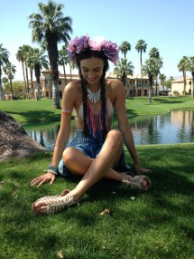 Coachella Fashion Teenage Wonderland