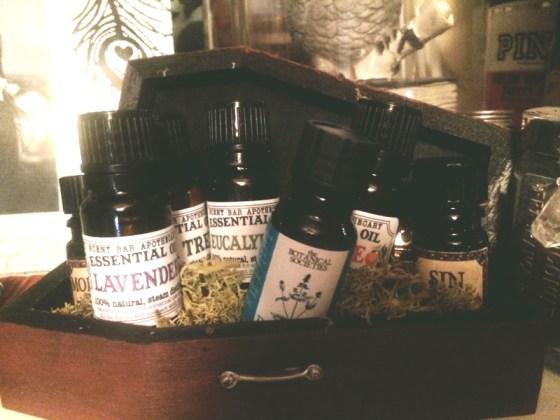 My own little oils!