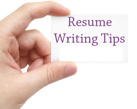 Professional Resume Writers Share 5 Good Resume Writing Tips  Teenas Resume Tips