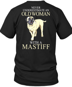 Never Ubderestimate An Old Woman With A Mastiff