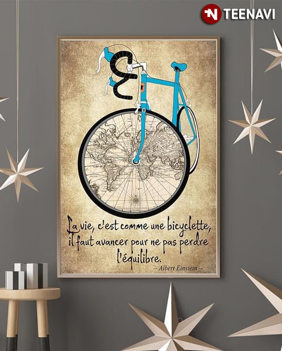 La vie, c'est comme une bicyclette - Atmosphère Citation