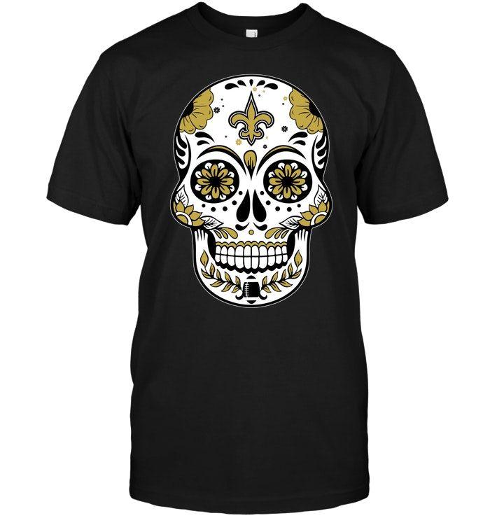 New Orleans Saints Sugar Skull T Shirt Buy T Shirts
