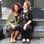 Brittney & Kaydee Laughing Fountain