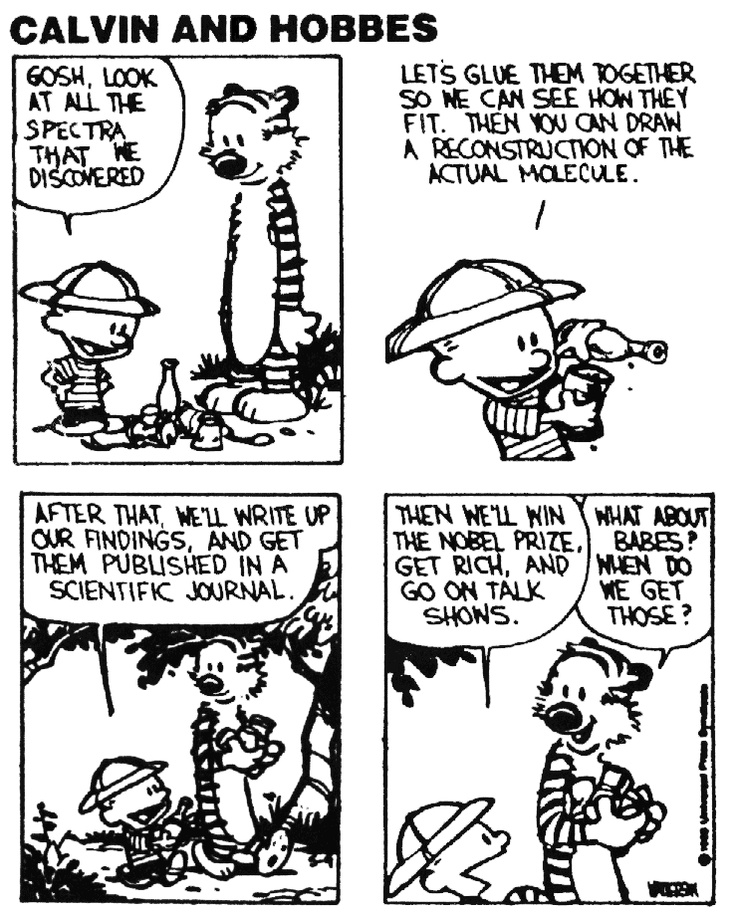 Grad School Experiences with the Help from Calvin and