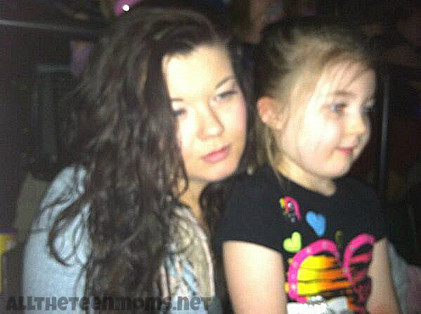 Amber Portwood and Leah 2014