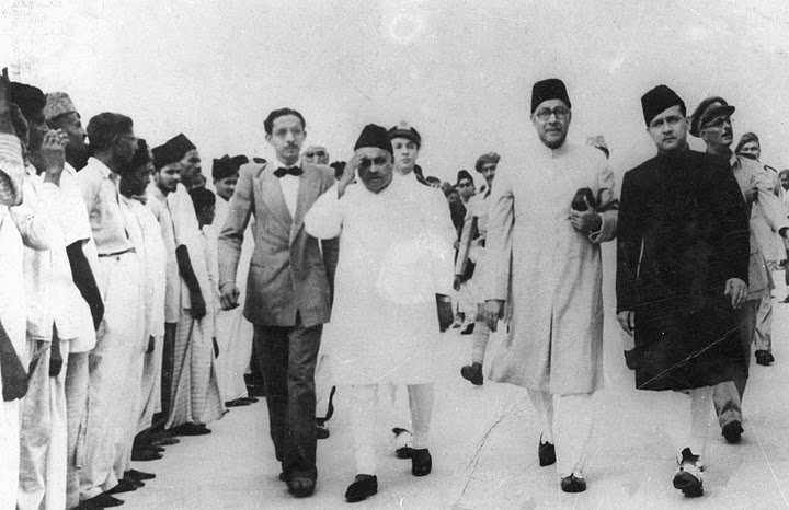 The historical photographs of Khawaja Nazimuddin
