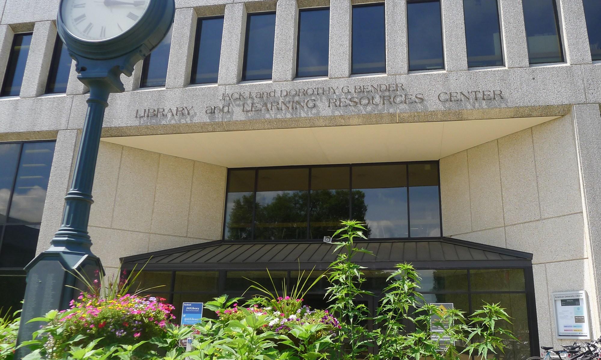 Jack & Dorothy Bender Library logo