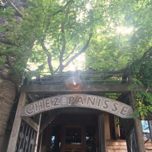 Chez Panisse patio