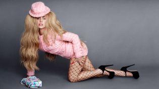 Лейди Гага позира за списание BAZAAR