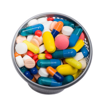 Pills-in-Bowl