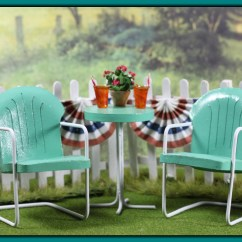 Baby Lawn Chair Table And Chairs Gumtree Miniature Vintage Tutorial  Teensyweensybaby