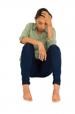 Social anxiety can lead to feelings of loneliness and depression. Image courtesy of Ambro at FreeDigitalPhotos.net